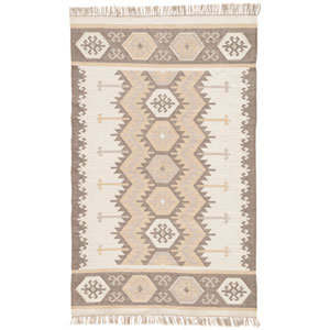 Desert Emmett Silver Green Rectangular: 8 Ft. x 10 Ft. Rug