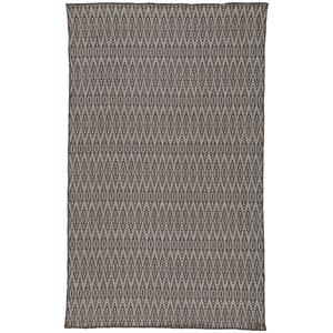 Nirvana Crover Charcoal Gray Rectangular: 2 Ft. x 3 Ft. Rug