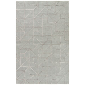City LaFayette Slate Gray Rectangular: 8 Ft. x 11 Ft. Rug