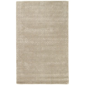 Baroque Rembrandt Neutral Gray Runner: 2 Ft. 6 In. x 8 Ft. Rug