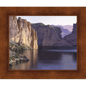 Quiet Reflections by Jay Moore: 25 x 21 Framed Giclee Canvas