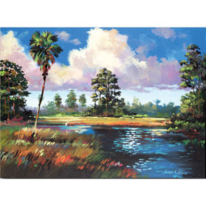 Sweetwater Glade by Joseph LaPierre: 24 x 18 Gallery Wrapped Canvas Giclee