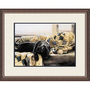 Guilty Pleasures by Sueellen Ross: 29 x 24 Open Edition Framed Print