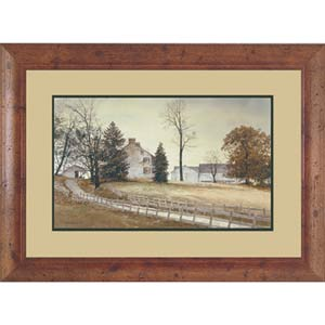 Late October by Hendershot: 40 x 30 Framed Open Edition Lithograph Art Print