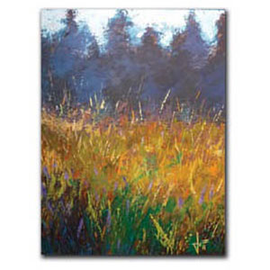 Ground Color by Jeff Boutin: 11 x 14 Giclee Canvas