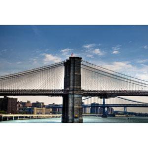 Brooklyn Bridge In New York by Kelly Wade, 18 x 24 In. Canvas Art
