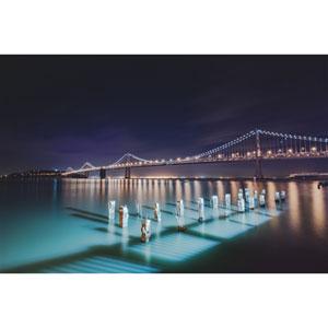 Bay Bridge San Francisco, California by Scott Barlow, 16 x 24 In. Canvas Art