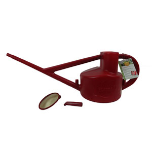 Haws Longreach Outdoor Red Plastic Watering Can