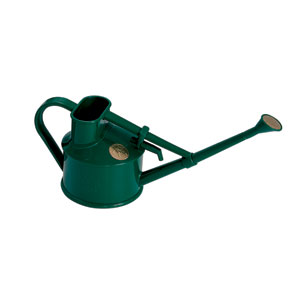 Haws Handy Indoor Green Plastic Watering Can