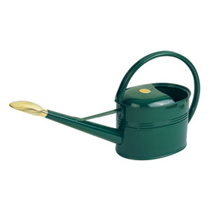 Haws Outdoor Green Metal Gallon Slimcan Watering Can
