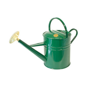 Haws Traditional Peter Rabbit Outdoor Green Metal Watering Can