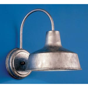 Galvanized Outdoor Wall Mount