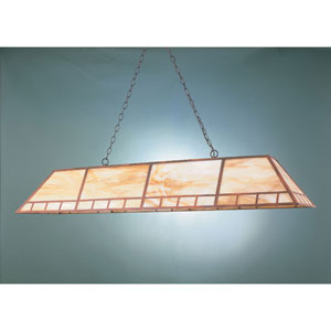 Rosewood 16-Inch Two-Light Billiard Light