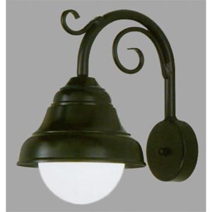 Lakeside Outdoor Black Wall Mount