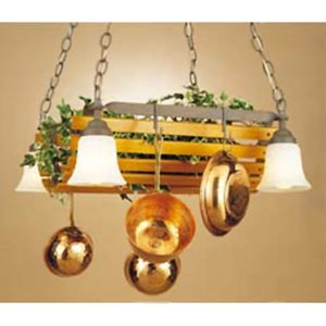 Oakridge Lighted Pot Rack