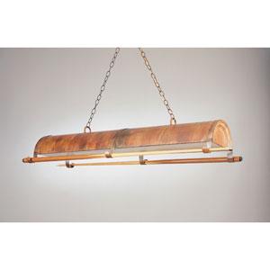 Rosewood 12-Inch Two-Light Billiard Light