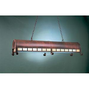 Rosewood 14-Inch Two-Light Billiard Light