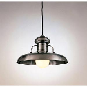 One-Light Dome Pendant