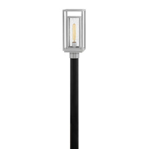 Republic Satin Nickel LED Outdoor Post Mount