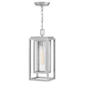 Republic Satin Nickel One-Light Outdoorpendant