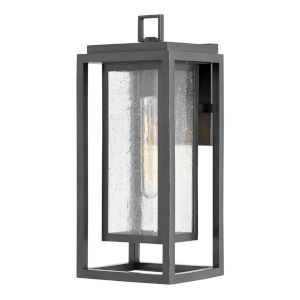 Republic Oil Rubbed Bronze One-Light 16-Inch Outdoor Wall Mount
