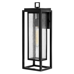 Republic Black One-Light Outdoor Wall Mount