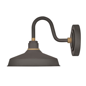 Foundry Museum Bronze 22-Inch One-Light Dark Sky Wall Mount