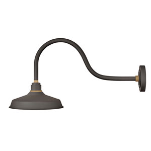Foundry Museum Bronze 30-Inch One-Light Dark Sky Wall Mount