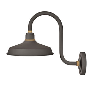 Foundry Museum Bronze 20-Inch One-Light Dark Sky Wall Mount