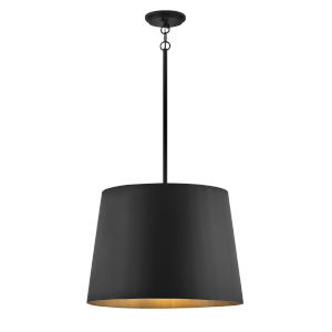 Alder Black One-Light Outdoor Pendant
