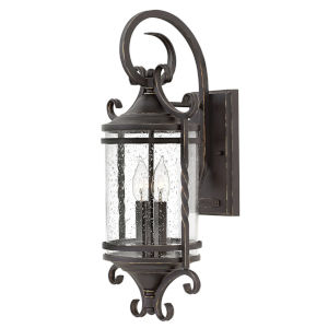 Casa Olde Black Two-Light Outdoor Wall Mount