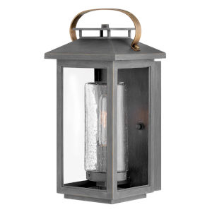 Atwater Ash Bronze One-Light 7-Inch Outdoor Wall Mount