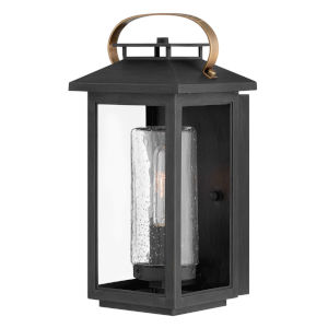 Atwater Black One-Light 7-Inch Outdoor Wall Mount