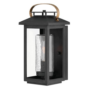 Atwater Black 14-Inch One-Light Outdoor Wall Sconce