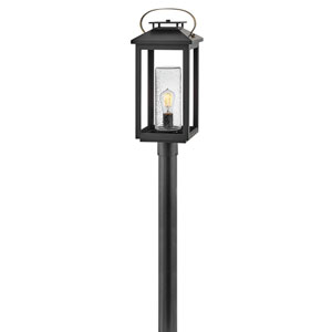 Atwater Black LED Outdoor Post Mount