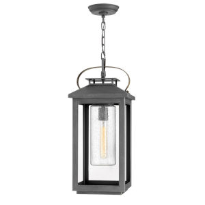 Atwater Ash Bronze One-Light Outdoorpendant