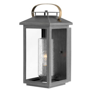 Atwater Ash Bronze One-Light 8-Inch Outdoor Wall Mount