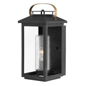 Atwater Black One-Light 8-Inch Outdoor Wall Mount