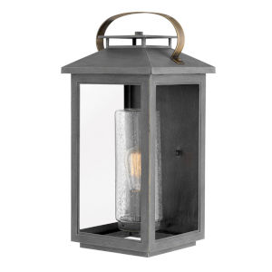 Atwater Ash Bronze One-Light 10-Inch Outdoor Wall Mount