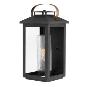 Atwater Black One-Light 10-Inch Outdoor Wall Mount