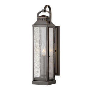 Revere Blackened Brass One-Light Wall Mount