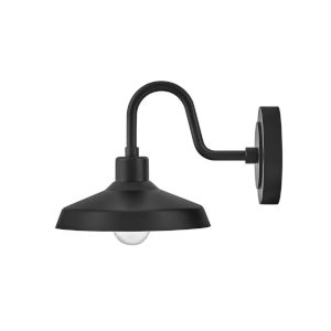 Forge Black 10-Inch One-Light Outdoor Wall Mount