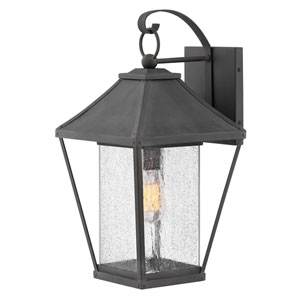 Palmer Museum Black 20-Inch One-Light Outdoor Wall Sconce