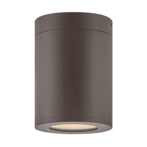 Silo Architectural Bronze LED Outdoor Flush Mount