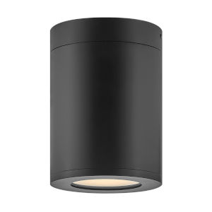 Silo Black LED Outdoor Flush Mount