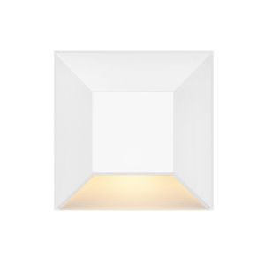 Nuvi Matte White 3-Inch LED Deck Light