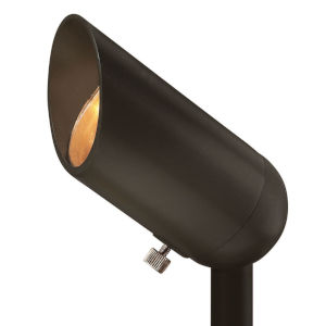 Bronze 3-Inch 12W 2700K LED Accent Spot Light with Clear Lens