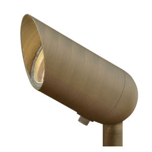 Hardy Island Matte Bronze 3-Inch 12W 2700K LED Accent Spot Light with Clear Lens