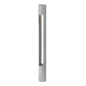Atlantis Titanium 2700K One-Light Bollard Light with Etched Lens