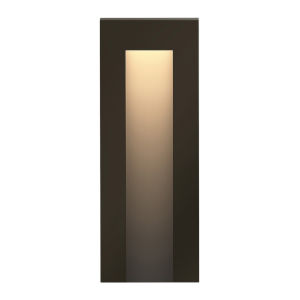 Taper Bronze LED Deck Light with Etched Lens